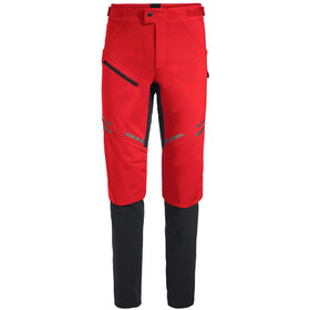 VAUDE Virt II Softshell Pants Herren mars red